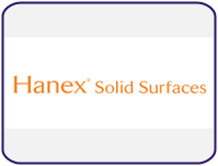 Hanex® Solid Surface Countertops