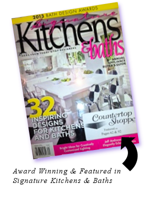 Featured in Signature Kitchens & Baths