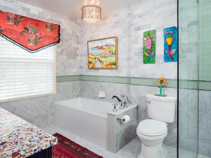 Jay Rambo Contemporary Master Bath